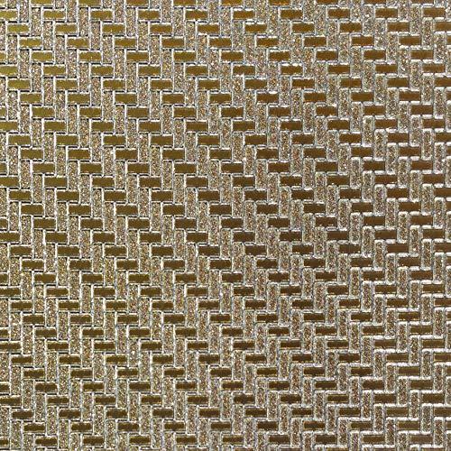 Dundee Deco AZ-G009 Tapete, selbstklebend, mit geometrischen Glitzersteinen, 5,5 x 45 cm, 2,5 m²