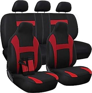 SUV Van Deco Protective Auto Accessories Sedan Babrukda 2 Piece 3D Flower Pattern New Interchangeable Elastic Car Seat Headrest Covers Luxury for Women Universal Fit Most Cars