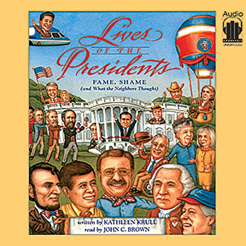 Lives of the Presidents audiobook cover art