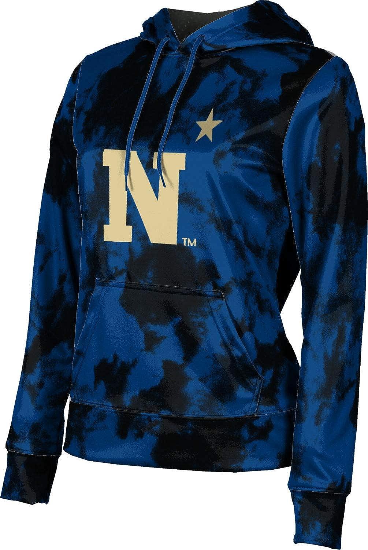 United States Naval Academy University Girls' Pullover Hoodie, School Spirit Sweatshirt (Grunge)
