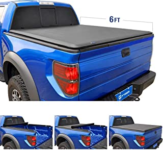Tyger Auto T1 Roll Up Truck Tonneau Cover TG-BC1F9025 Works with 1982-2013 Ford Ranger 1994-2011 Mazda B-Series Pickup | Styleside 6' Bed