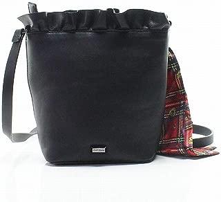 Women's Ruffles Small Top-Handle Bucket Bag