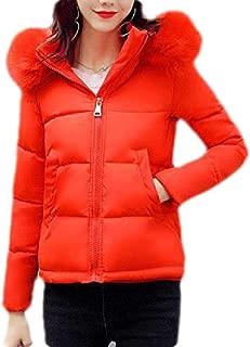 Macondoo Women Thicken Winter Parkas Coat Cotton-Padded Hooded Down Jacket