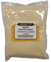 HomeBrewStuff Briess CBW Dry Malt Extract (DME) for Home Beer Brewing (Golden Light, 1 Pound)