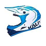 Kali Unisex-Adult Helm ZOKA MAT WHT/BLU/NVY, Weiß/Blau/Marine, 60-62