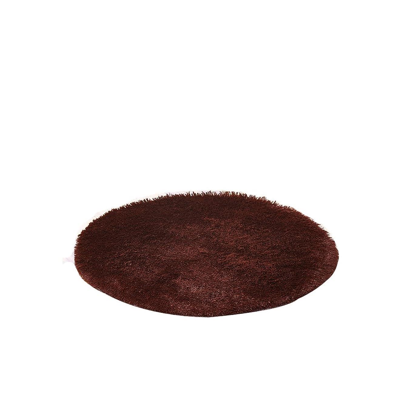 日曜日カップ契約するHomeMiYN 円形 絨毯 ラグ カーペット 防音 滑り止め マット フロアマット ラグマット 洗える マイクロファイバー 床暖房 やわらか 敷物 カシミヤ 手触り 16色 9サイズ