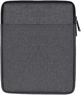 AINAAN iPad/Tablet Sleeve Case ,Shockproof, Waterproof, Portable, Accessory And Charger Storage Bag, 9.7 Inch, Dark Gray