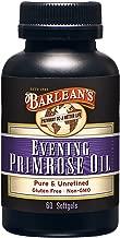 Barlean's Evening Primrose Oil Softgels, 60-Count Bottle