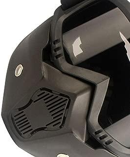 ELECTROPRIME Outdoors Motorcycle Helmet Replacement Shockproof Detachable Black+Gray Useful