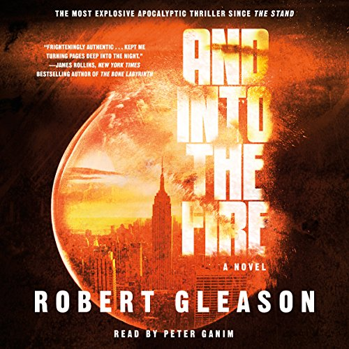 And into the Fire audiobook cover art