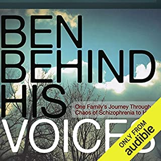 Ben Behind His Voices audiobook cover art