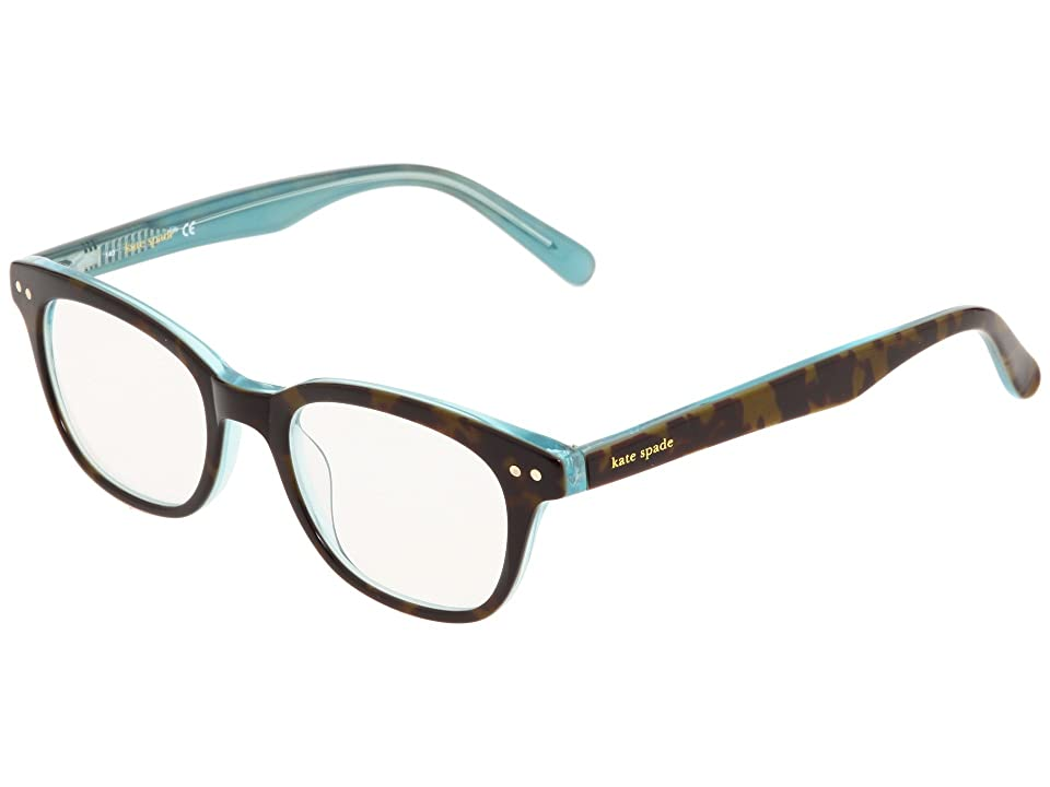 Kate Spade New York Rebecca (Tortoise Aqua) Reading Glasses Sunglasses