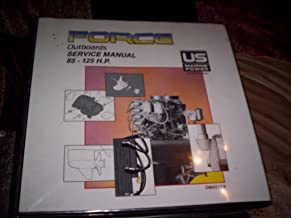 Force Outboards Service Manual 125 h.p. D models