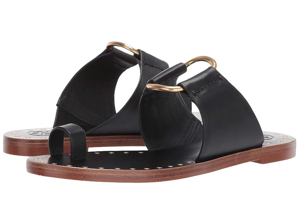 Tory Burch Ravello Studded Sandal (Perfect Black) Women