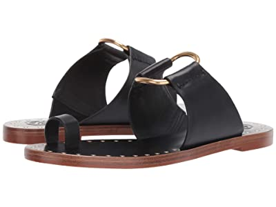Tory Burch Ravello Studded Sandal (Perfect Black) Women