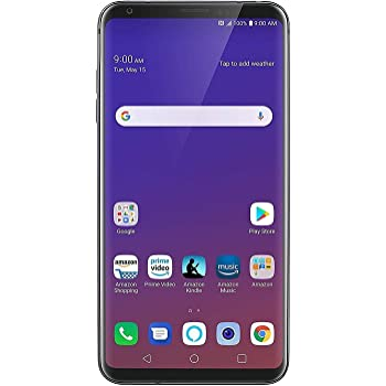 LG V35 ThinQ 64GB Smartphone GSM Unlocked (AT&T/T-Mobile), Platinum Gray (Renewed)