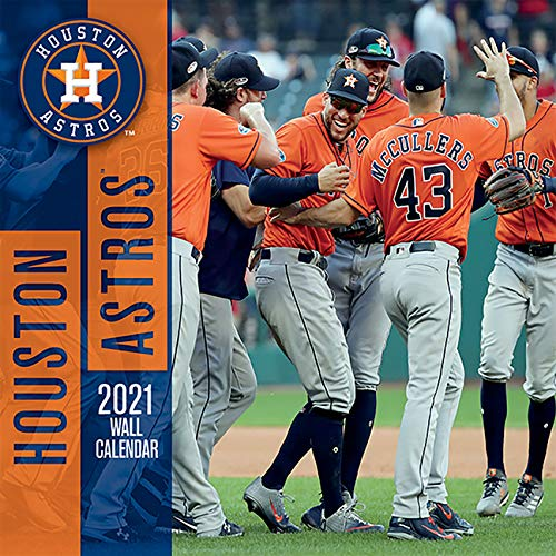Houston Astros 2021 Calendar