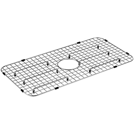 Moen Ga719 Stainless Steel Center Drain Bottom Grid Sink Accessory For 29 Inch X 16 Inch Sinks Stainless Amazon Com