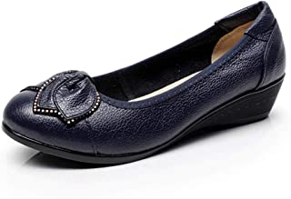 [WOOYOO] 6色揃い ペタンコ レディース アーモンドトゥ パンプス 葉柄 美脚 浅め オフィス 走れる クッション ローヒール フラット 歩きやすい 大きいサイズ 痛くない 黒 白 シルバー ナチュラル 婦人靴