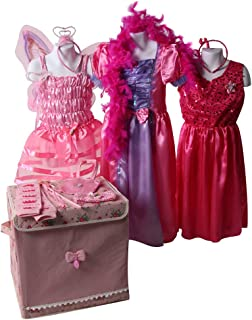 Girls Classic Princess & Costume Dress Up Trunks (Choose Style and Size)