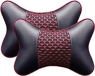 User Cuello De Protección De Almohada De Coche De 2 Piezas, Reposacabezas De Coche Almohada De Cuello Transpirable