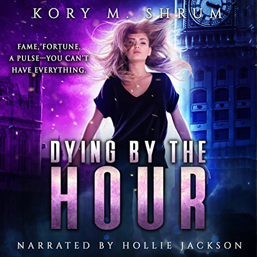 Dying by the Hour  audiobook cover art