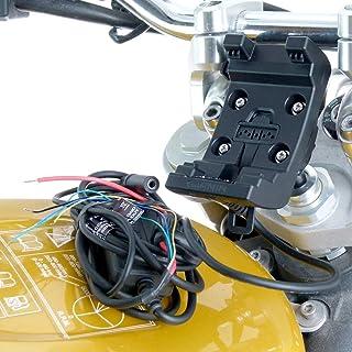 13.3-14.7mm Motorfiets Mount met Audio/Power Kabel voor Garmin Montana Serie