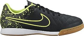 Nike Tiempo Genio Leather Indoor (Black/Green)