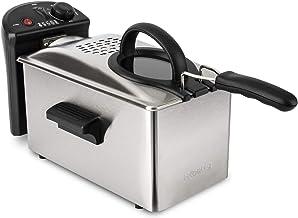 H.Koenig DFX300 friteuse INOX, 2100 W, 3 liter, zilver
