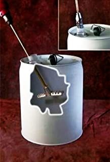 Swing T-Style Mixer Blade for 3-5 Gallon Bucket or Pail-3/8