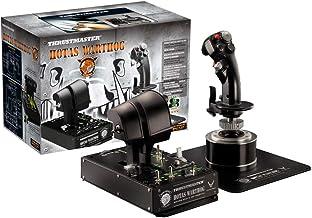 Thrustmaster 2960720 HOTAS WARTHOG - PC JOYSTICK SET,Black,Apple