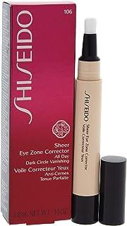 Shiseido Sheer Eye Zone Corrector - # 106 Warm Beige, 3.8 ml