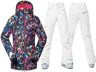 Zjsjacket ski Suit Women Snow Clothing Snowboarding Sets Outdoor Sports Skiing Suit Set Waterproof Windproof Gsou Snow Jac...