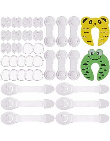 2-n Conjunto de seguridad para ni/ños Protecci/ón para beb/és Kit completo para ni/ños Z/ócalo Protector
