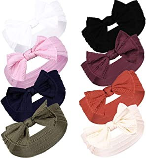Baby Girl Headband Bows Nylon Hair Turban Headwrap Accessories for Newborn Infant Toddler