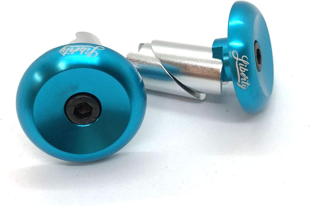 Liberty Pro Scooters Aluminium Bar End Plugs for Bikes and Scooters