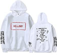 Lil Peep Falling Down Hell Boy Hoodies Sweatshirt Black White Multicolored 3D Print Colorful Cotton Unisex R.I.PCry Baby 1