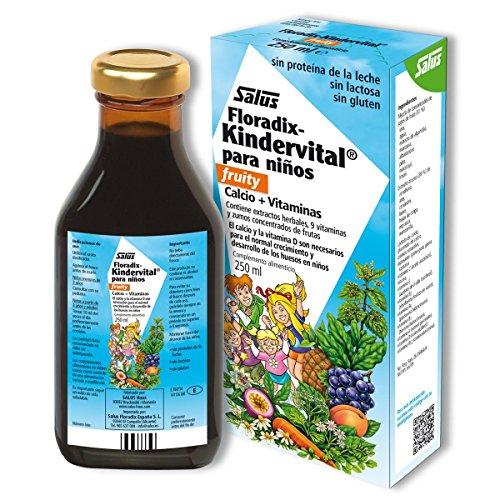Floradix Kindervital para niños Salus, 250 ml