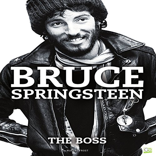 Bruce Springsteen audiobook cover art