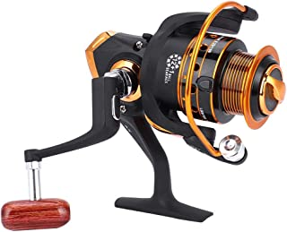 Vbestlife. Spinning Fishing Reel 12+1BB Bearings,Aluminum Alloy Rocker Arm Spinning Reel Fishing Wheel Left/Right Handed AX Series AX500-9000 Saltwater Freshwater