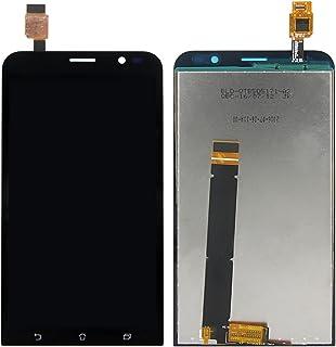 SKILIWAH® ASUS Zenfone GO ZB551KL修理用 5.5インチ 液晶LCD タッチパネル+フルLCD (フロントガラスデジタイザ) 修理用キット ブラック
