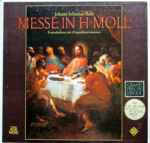 Bach: Messe in h-moll BWV 232 (Erstaufnahme mit Originalinstrumenten) [Vinyl Schallplatte] [3 LP Box-Set]