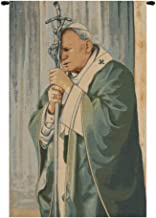 Pope John Paul II Italian Tapestry Wall Art