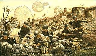 James Dietz On The Rock 503rd Parachute Regimental Combat Team World War II Military Art (Artists Proof)