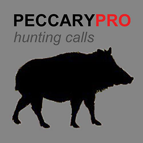 REAL Peccary Calls and Peccary Sounds APP for Hunting -  BLUETOOTH COMPATIBLE