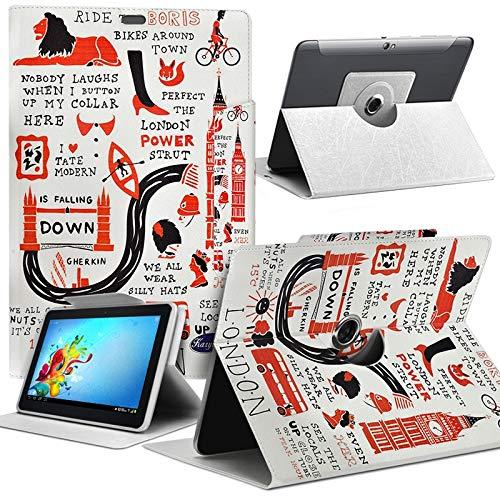 Karylax MV02 - Funda universal para tablet Vankyo MatrixPad Z1 de 7'