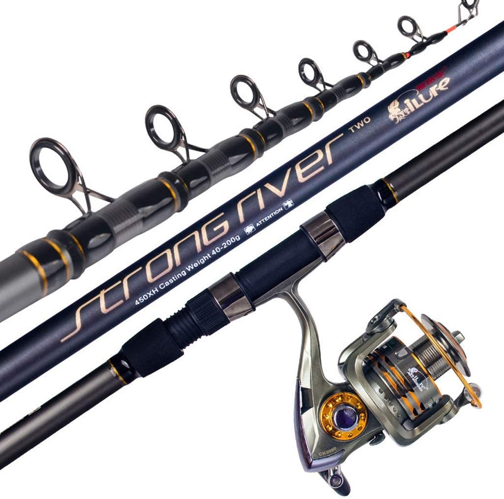 dhcsf Fishing Rod and Special sale item Reel Combos Set Sea Sales for sale Long Throwing Pole