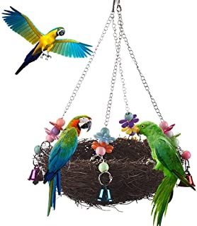 DealMux Budgie Toys vogelspeelgoed, accessoires voor vogelkooien, speelgoed voor vogels, kleurrijk speelgoed voor vogels, ...