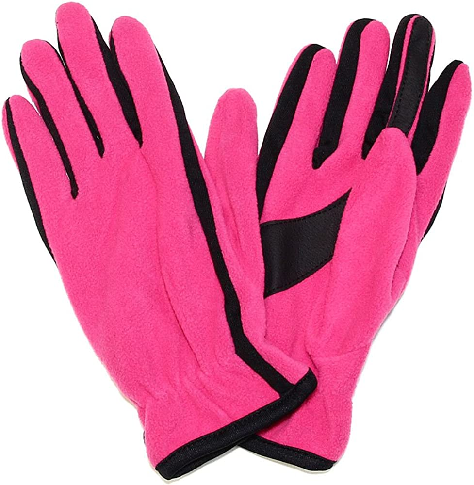 Falari Women's Glove Polyester Fleece For Cold Weather One Size