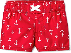 Cat And Jack Infant Boy Swim Trunks 3-6 Months Anchors Red